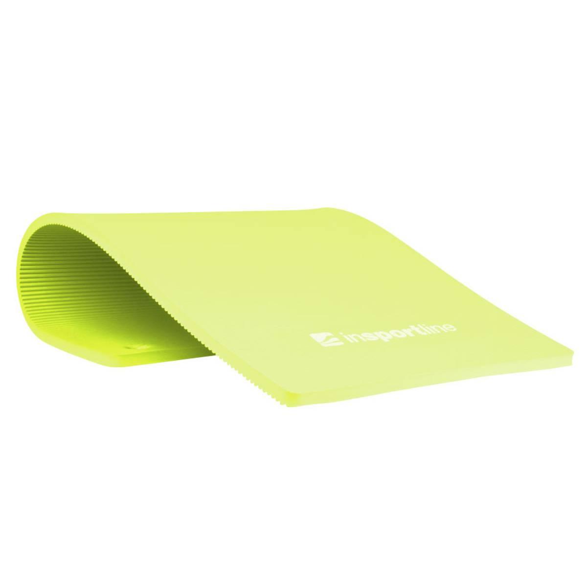 Treningsmatte inSPORTline Profi 100 cm - Grønn