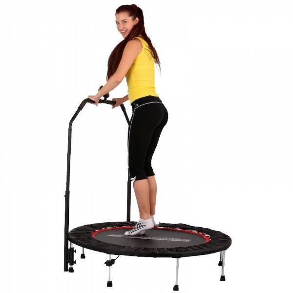 Bilde av inSPORTline Fitness trampoline PROFI Digital 140